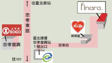 費納拉國際有限公司地圖
