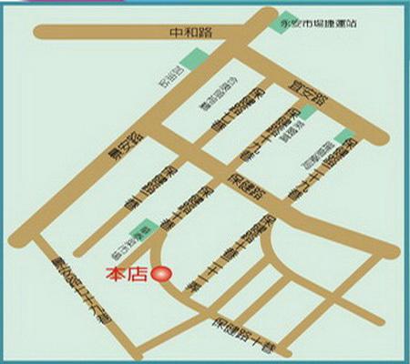 雨之情傘業有限公司地圖