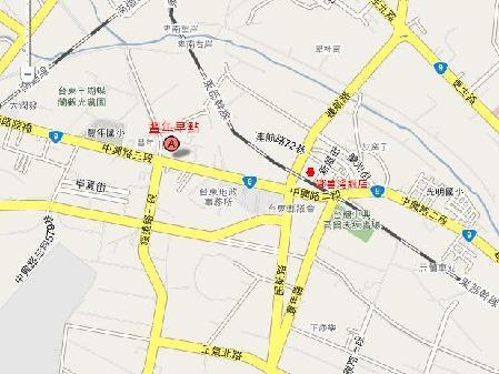 台東豐年早點地圖