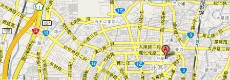 采燁翻譯地圖