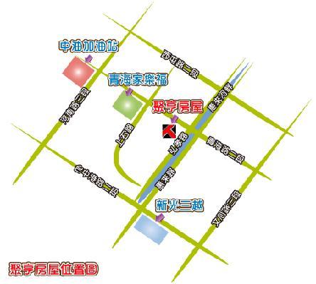 聚亨房屋地圖