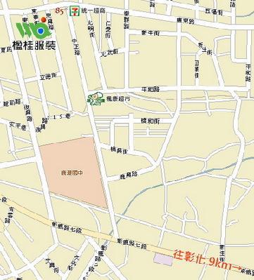 楹桂企業有限公司地圖