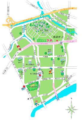 榮鋒科技企業有限公司地圖