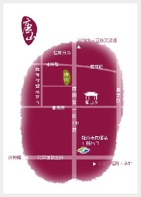 唐山居家佛具店地圖