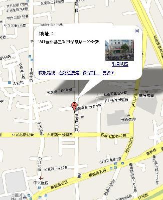馬路科技網頁設計公司地圖