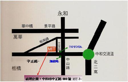 Coratex 禎朗企業有限公司地圖