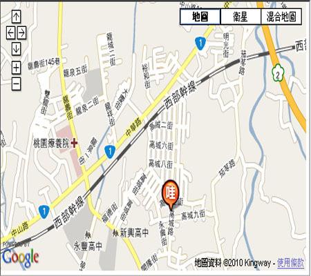 布拉琪名床工廠地圖
