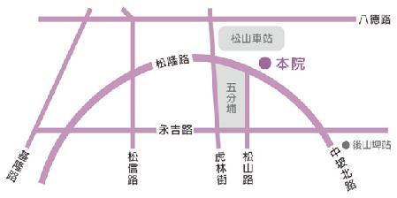 三本醫美中心地圖