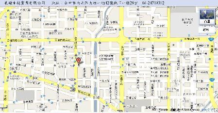 晨晞生技實業有限公司地圖