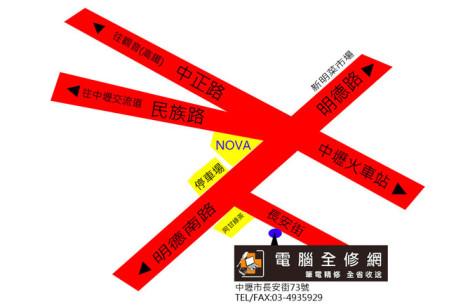 騰達資通有限公司地圖