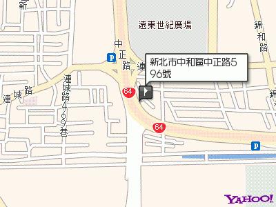 省錢租車網服務地圖