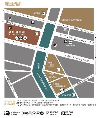 棒恰恰美式歡樂餐廳 (台中金典店)地圖