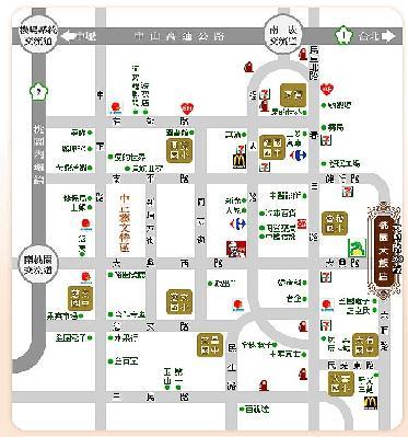 幸福麥坊手感烘焙地圖