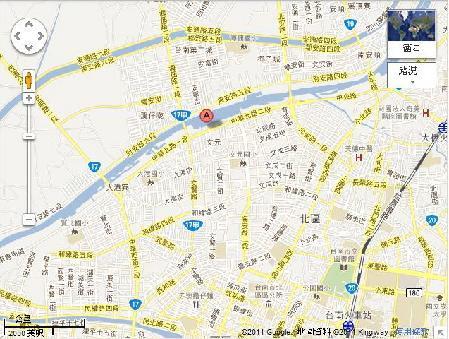 詠泰消防設備工程有限公司地圖