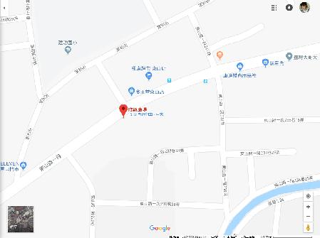 二呆飯糰-東山店地圖