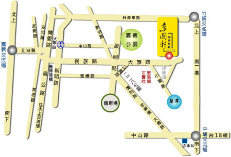 東園軒地圖