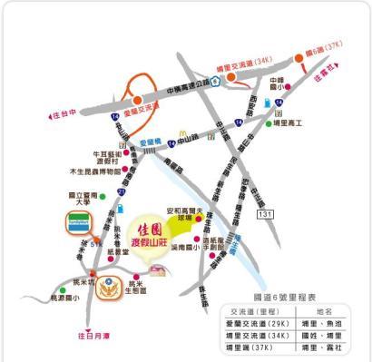 佳園渡假民宿地圖