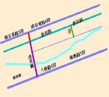 騰貿實業有限公司地圖