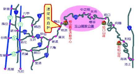 達妮芙民宿地圖