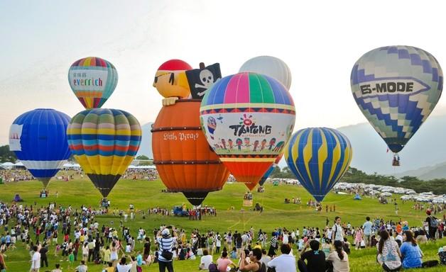【台湾国际热气球嘉年华活动】