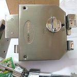 六段重型雙子芯防盜門鎖