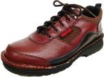 安全鞋-氣墊休閒安全鞋-牛頭牌安全鞋原廠 - 連鞋頭整雙縫合 - 保證不會開口-Y7001B(HP)咖啡 鞋底加鋼片