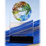 琉璃水晶獎牌-名門