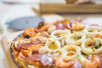 燻鮭太平洋海鮮披薩