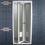 塑鋼折門二片式