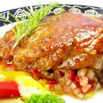 紐奧良風味煎豬扒佐蕃茄莎莎醬(11盎司)