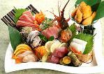 豪華玄海生魚片