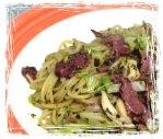 塔香青醬蜜汁叉燒