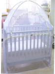 歐洲宮廷式嬰兒床蚊帳(大、小嬰兒床、遊戲床適用)